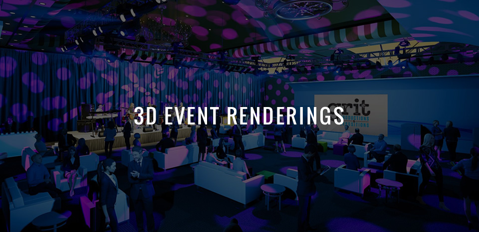Trade Show 3D Event Renderings